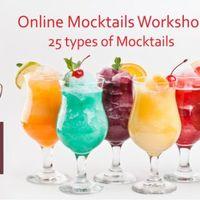 Online Mock tails Workshops (25 types of Mock tails)
