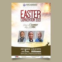 EASTER CONVENTION 2021