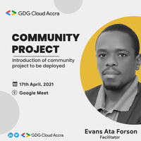 GDG Cloud Accra Community Project