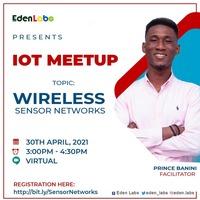 Wireless Sensor Networks - IOT MEETUP