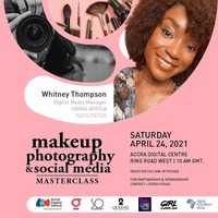 Make-Up, Photography & Social Media Masterclass