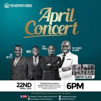 April Concert 2021 - The Keeper's House