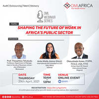 Shaping The Future Of Work In Africa's Public Sector