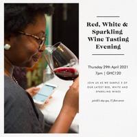 Red, White & Sparkling Wine Tasting Evening