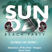 SUNDAY Beach Party