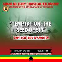 """TEMPTATION: """"The seed of sin"""""""