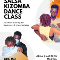 Salsa and Kizomba dance class