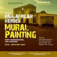 Pan African Heroes Mural Painting