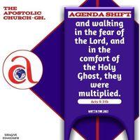 Ascension prayer convention