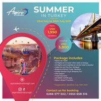 Summer In Turkey 2021 by Aspire Destinations