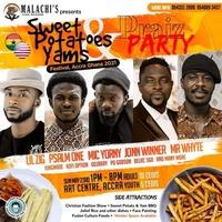 CHRISTIAN MUSIC CONCERT & PRAIZ PARTY @THE SWEET POTATOES AND YAMS FESTIVAL