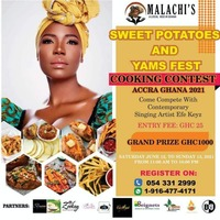 COOKING CONTEST with Efe Keyz@THE SWEET POTATOES AND YAMS FESTIVAL