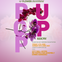 GHANA GARDEN & FLOWER POP UP SHOW