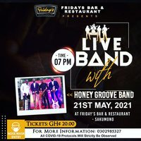 Live Band with Honey Groove