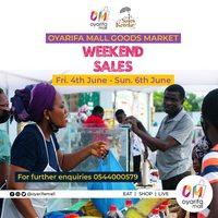 WeekEnd Sales - OYARIFA MALL