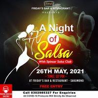 A Night of Salsa with Spinsar Salsa Club