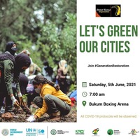LET'S GREEN OUR CITIES