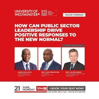 How Can Public Sector Leadership Drive Positive Responses To The New Normal?