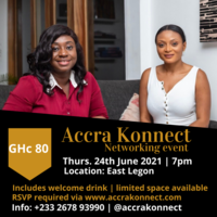 Accra Konnect Networking Event - June Edition