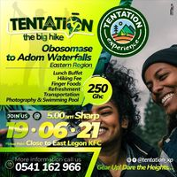 The Big HIKE with TENTATION EXPERIENCE
