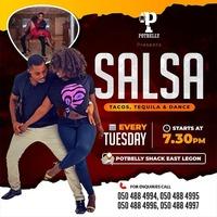Salsa Nights at Potbelly Shack