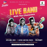 Live Band with THE CHARACTERS