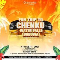 FUN Trip To CHENKU Water Falls (Dodowa)