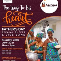 FATHER'S DAY Special Buffet & LIVE BAND