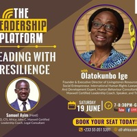LEADING with RESILIENCE with OLATOKUNBO IGE