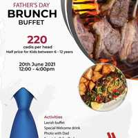 Father's Day Brunch Buffet at Accra Marriott Hotel