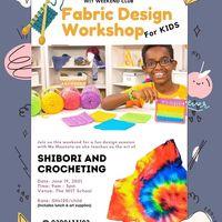 Fabric Design Workshop For Kids