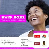 EVIS2021-VOLUNTEER IN SIERRA Leone