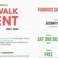 July Bird Walk 2021