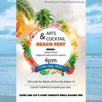 Arts & Cocktail Beach Fest