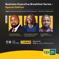 Business Executive Breakfast series - Accelerating SME Growth & Development