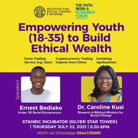 Empowering Youth (18-35) to Build Ethical Wealth