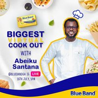 Biggest Virtual Cook Out with Abeiku Santana