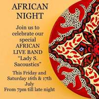 African Night at Persia Restaurant