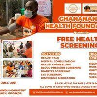 GHF FREE HEALTH SCREENING PROGRAMME