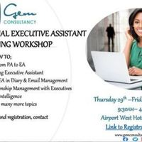 The Professional Executive Assistant Training Workshop 29th&30th July