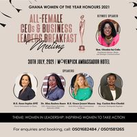 All-Female CEOs and Business Leaders Breakfast Meeting
