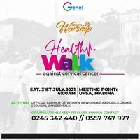 Health Walk against Cervical Cancer