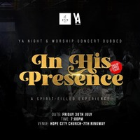 WORSHIP CONCERT - In His Presence