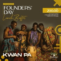 Founders' Day lunch Buffet with  Kwan Pa