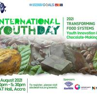 INTERNATIONAL YOUTH DAY 2021- YOUTH INNOVATION IN CHOCOLATE MAKING