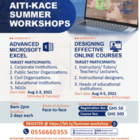 AITI-KACE Summer Workshops