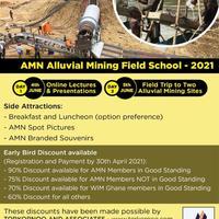 Accra Mining Network (AMN) Alluvial Field School - 2021