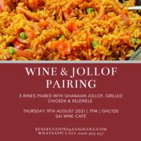 Wine & Jollof Pairing