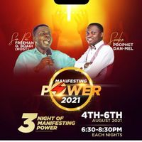 3 NIGHT OF MANIFESTING POWER 2021