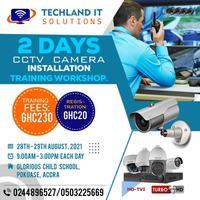 2 Days CCTV Camera Installation & Training Workshop